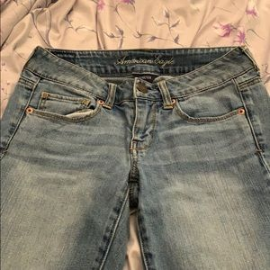 American Eagle Jeans Light Wash Skinny